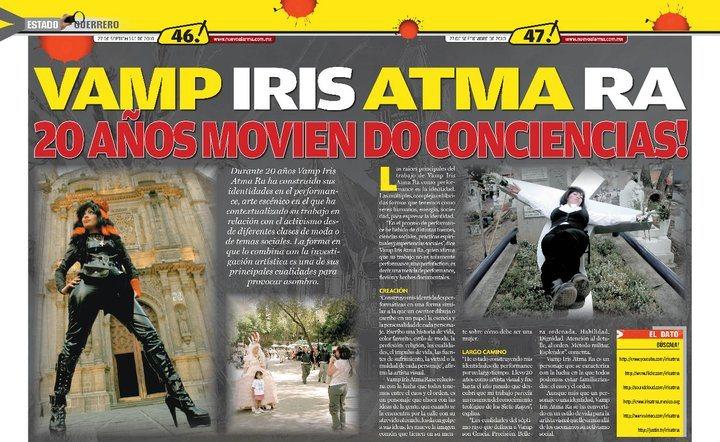 Vamp Iris Atma Ra 20 años moviendo conciencias!