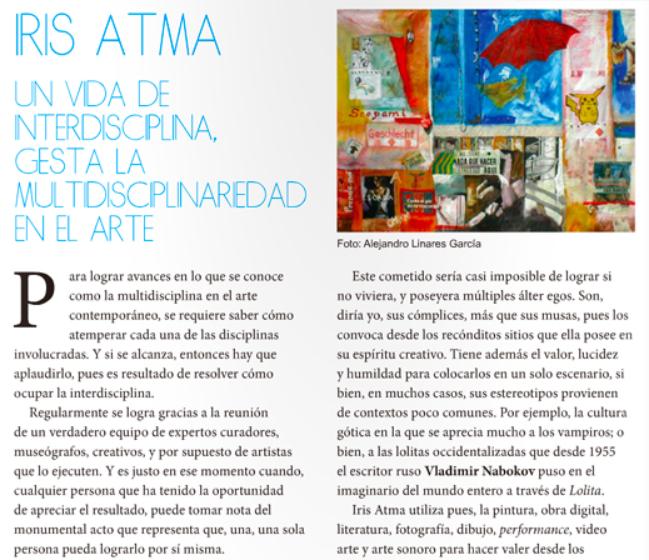 #RaalKiVictorieux #IrisAtma #IrisMéxico es una creadora multidisciplinaria, interdisciplinaria, que explora el álter ego, los símbolos estéticos, y derechos humanos.
