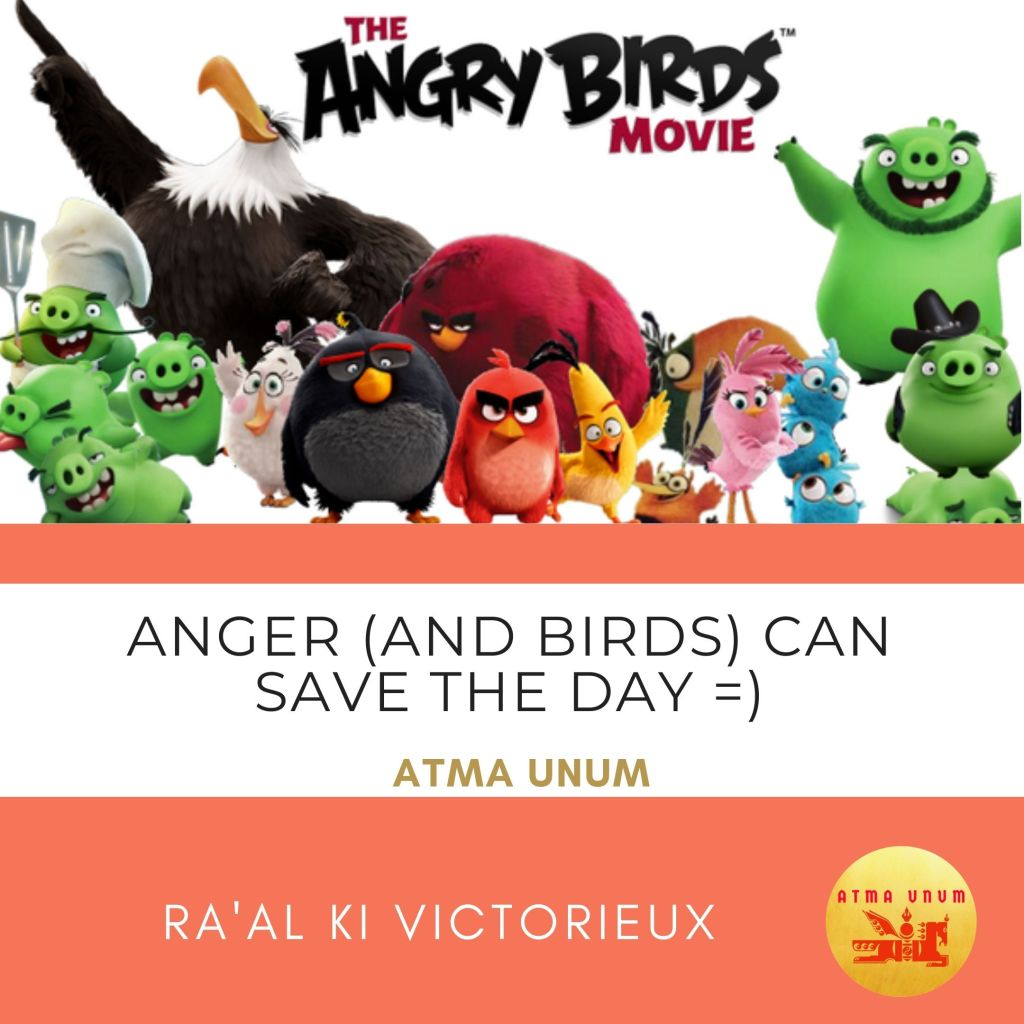 ANGRY BIRDS. MOVIE. ATMA UNUM