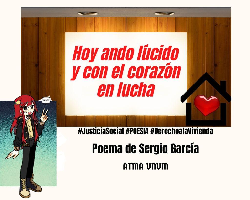 Poesía por el Derecho a la Vivienda -Sergio García