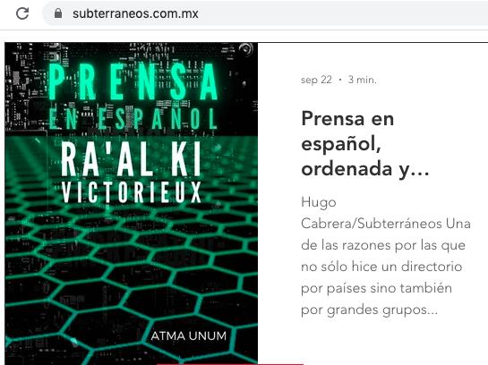 #directorio #prensa #subterráneos #cultura #iris #información